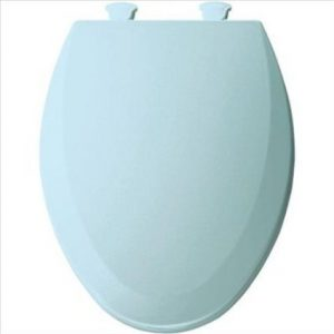 Best Value Dresden Blue Molded Wood Elongated Toilet Seat