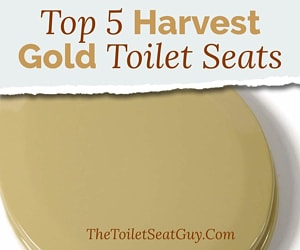 Harvest Gold Toilet Seat