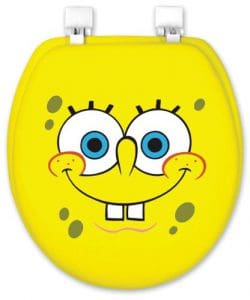 Spongebob Novelty Toilet Seat