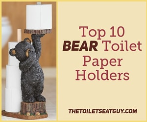 Bear Toilet Roll Holders
