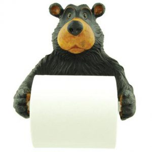 Big Bear Holding Toilet Paper