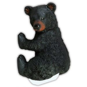 Cute Climbing Bear Cub Toilet Roll Holder