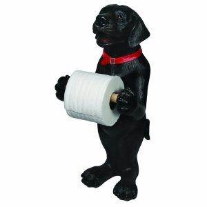 Cute Dog Toilet Roll Holder