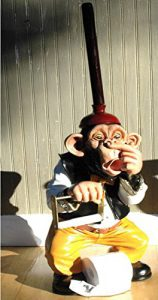 Funny Monkey Standing Toilet Paper Holder