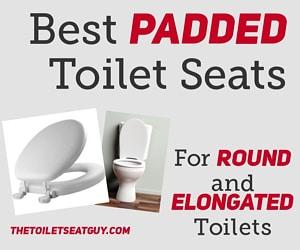 Padded Toilet Seats