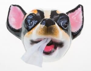 Cute Little Chihuahua Toilet Roll Holder