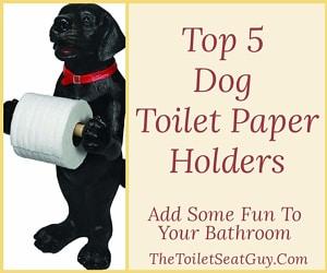 Dog Toilet Roll Holders