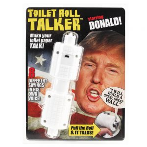 Donald Trump Novelty Talking Toilet Paper