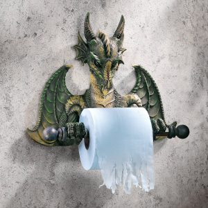 Dragon Novelty Toilet Paper Holder
