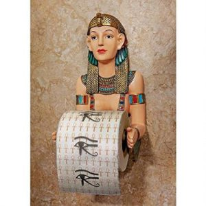 Egyptian Priestess Novelty Toilet Paper Holder