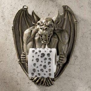 Gargoyle Novelty Toilet Roll Holder