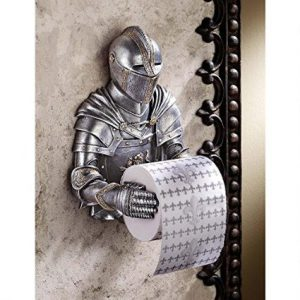 Gothic Knight Novelty Toilet Paper Holder