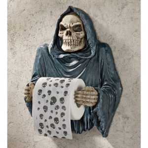 Grim Reaper Novelty Toilet Roll Holder