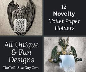 Novelty Toilet Roll Holders