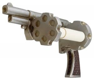 Pistol Gun Novelty Toilet Paper Holder