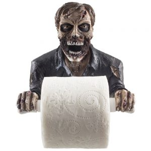 Zombie Scary Toilet Roll Holder