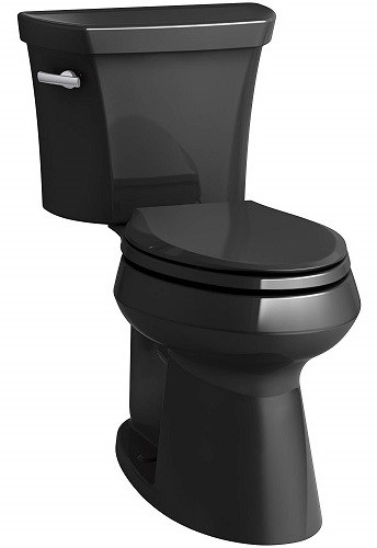 Black Toilet - Kohler Highline