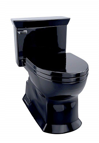 Black Toilet TOTO Eco Soiree
