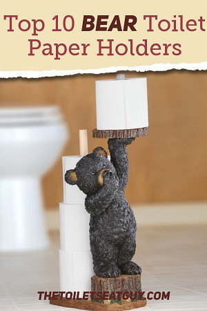 Bear Toilet Paper Holders