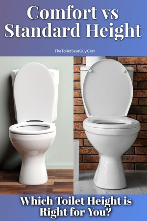 Comfort Height vs Standard Height Toilets