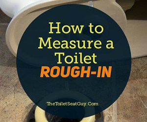 Measure a Toilet Rough-in