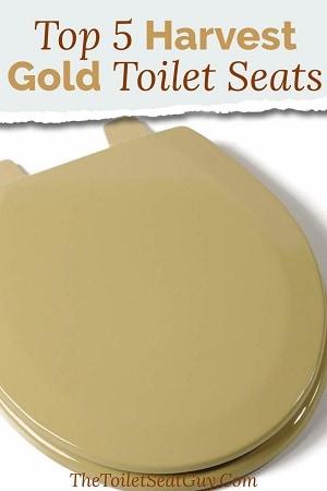 Harvest Gold Toilet Seats