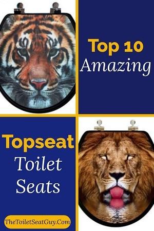 Topseat toilet seats