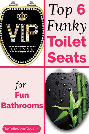 Funky toilet seats