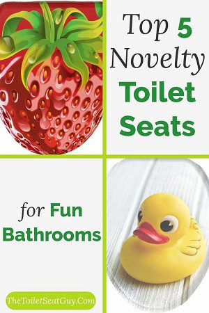 Novelty toilet seats