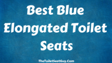 Best Blue Elongated Toilet Seats To Brighten Up Any Toilet